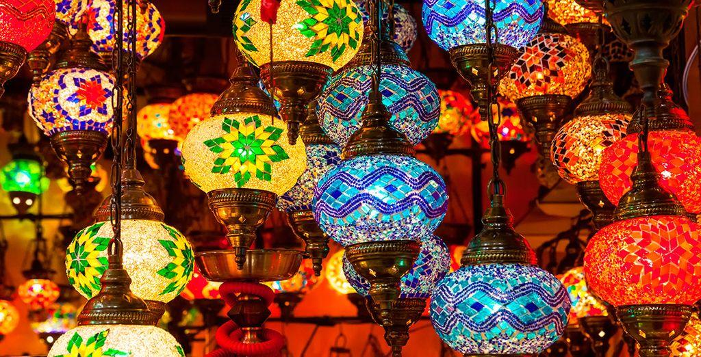 Acérquese al Gran Bazar
