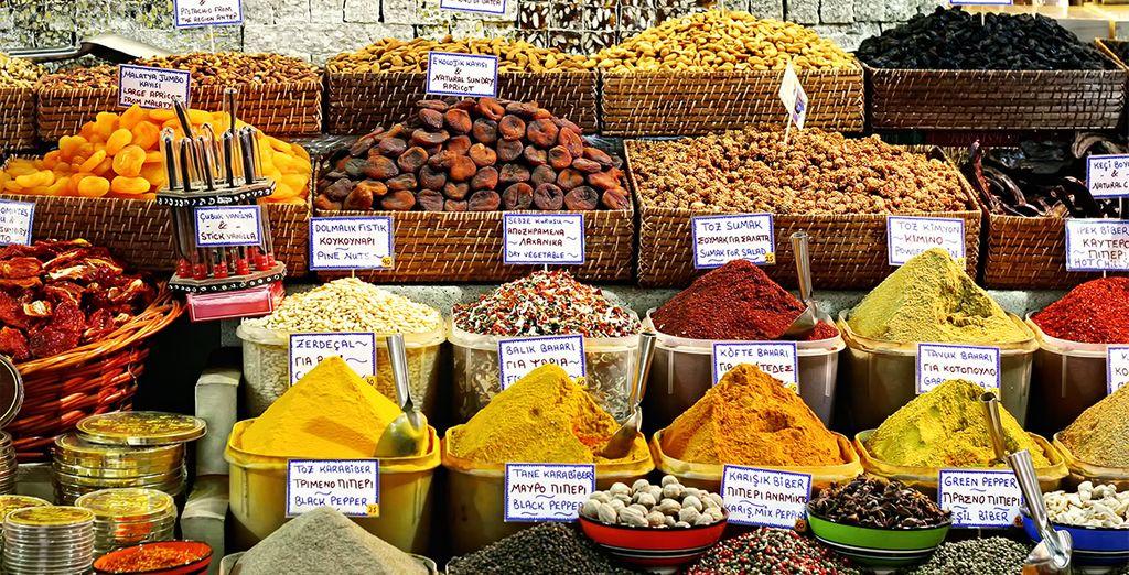 Descubra nuevos sabores y aromas