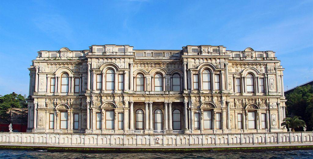 El Palacio de Berleybeyi, a orillas del Bósforo