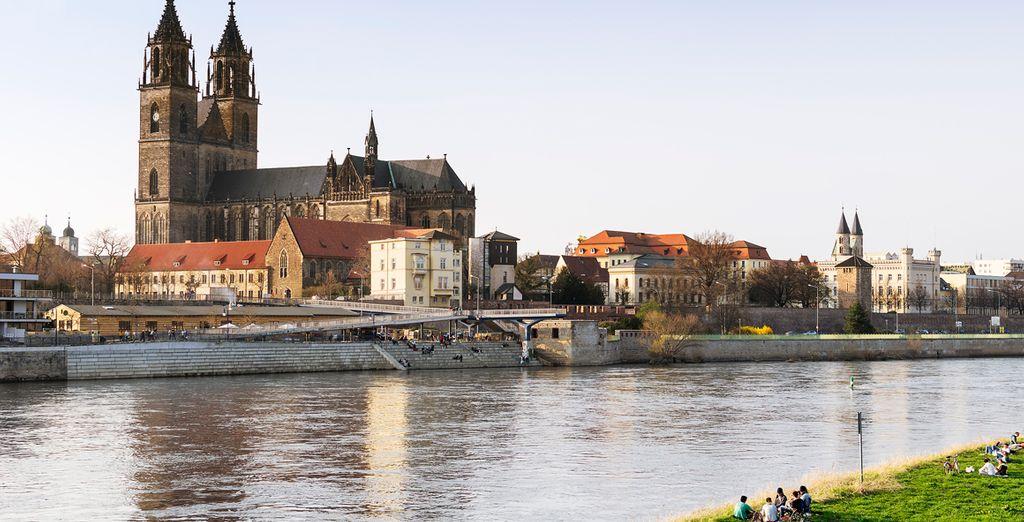 Magdeburg, capital de la Alta Sajonia, es una de las ciudades más antiguas de los nuevos estados federados