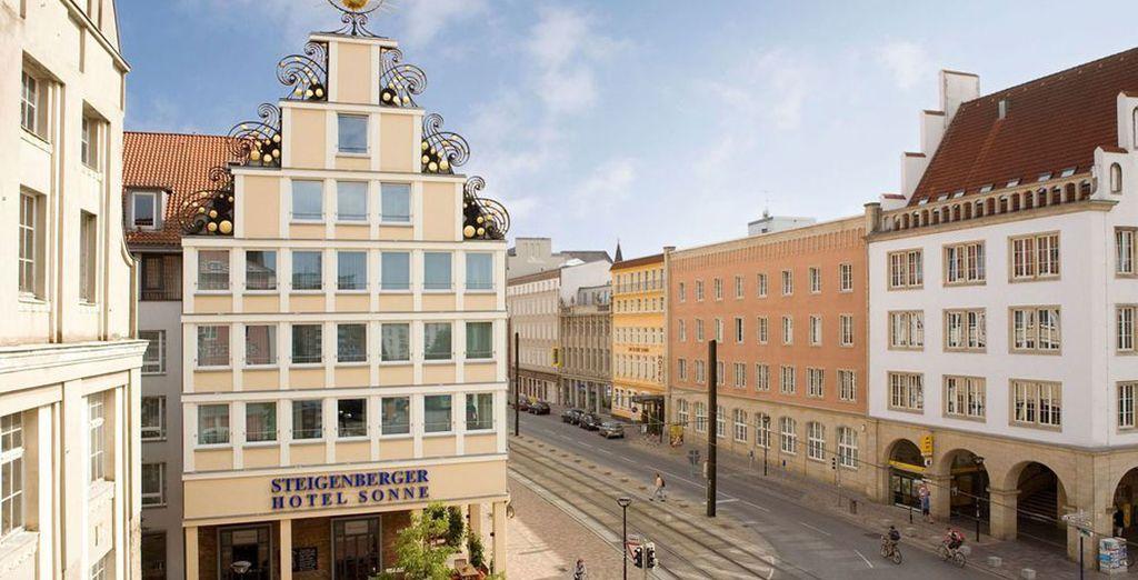 Steigenberger Hotel Sonne 4*, Rostock