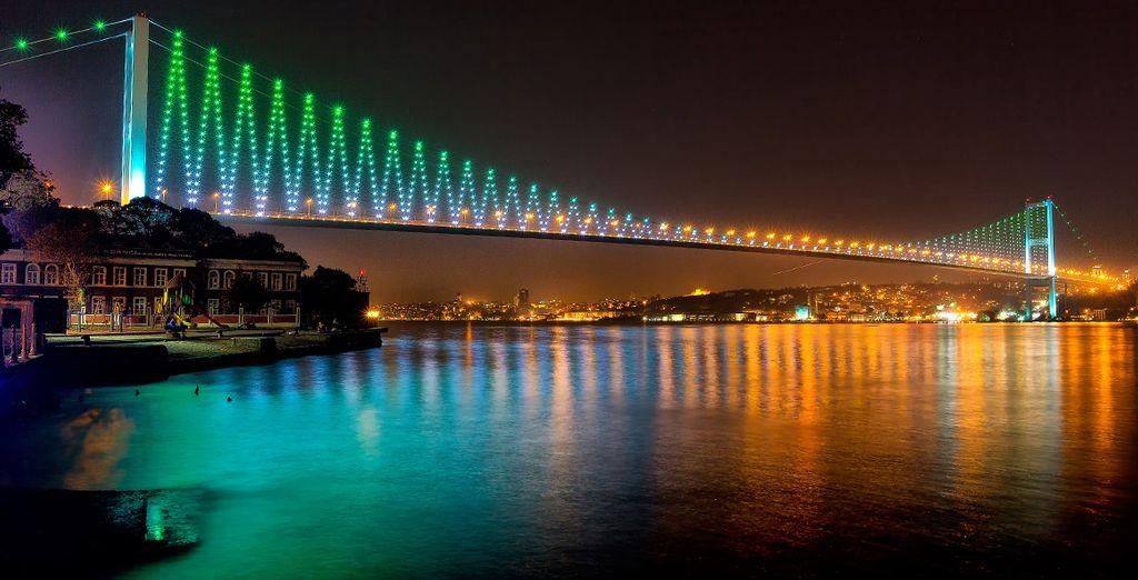 El puente del Bósforo