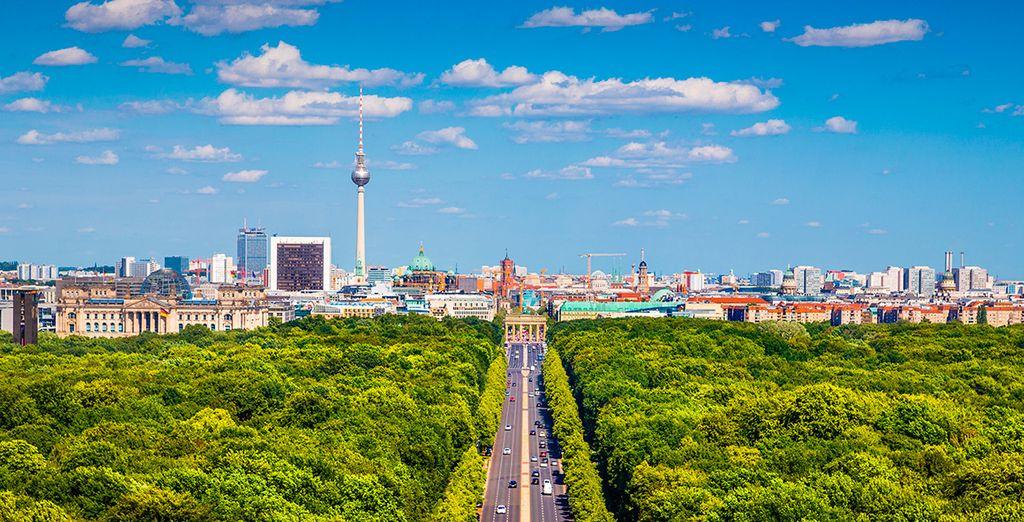 El Parque Grosser, pulmón de la capital alemana