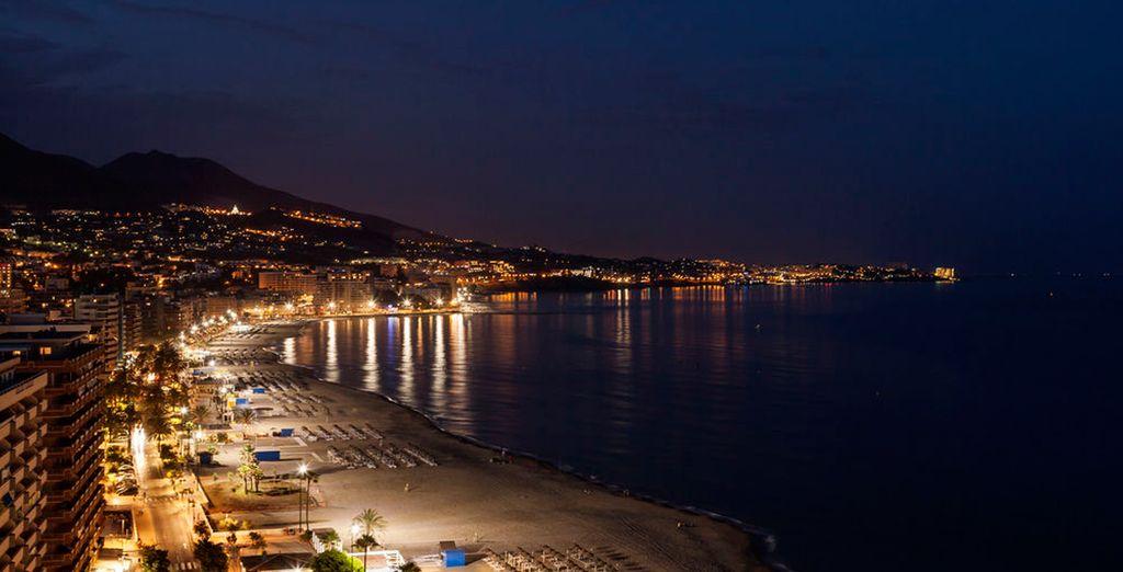 Disfruta de las vistas de la Playa de los Boliches desde el hotel