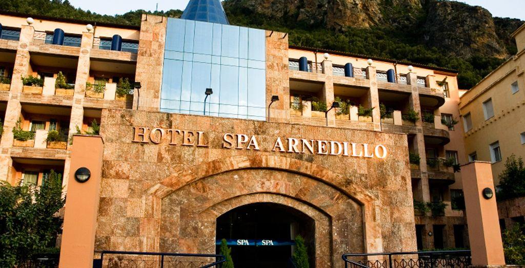 Bienvenido a Hotel SPA TermaEuropa Balneario Arnedillo 4*