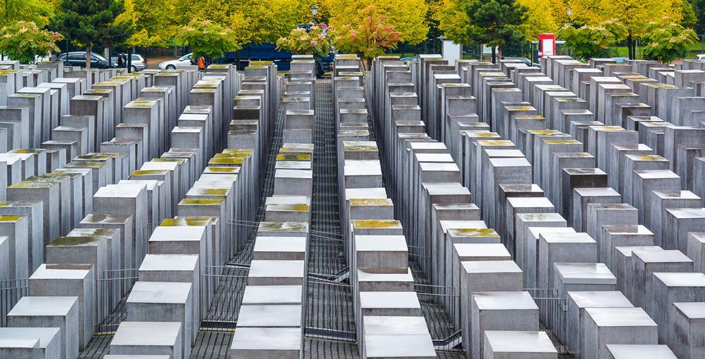 Descubre el Monumento al Holocausto