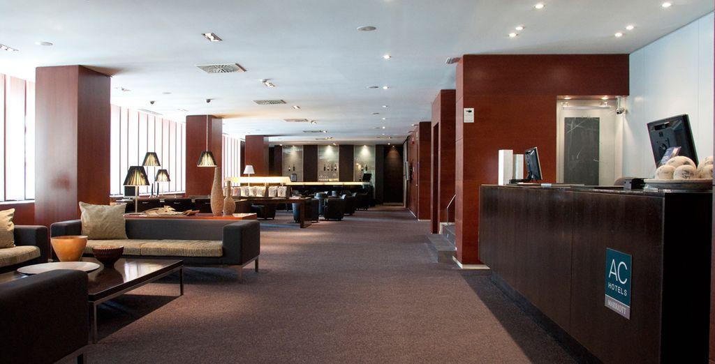 Opiniones ac hotel la rioja by marriott logro o for Hotel bodega logrono