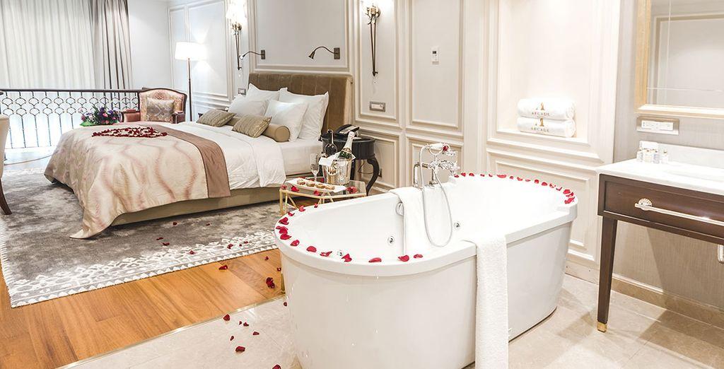 Hemos seleccionado para usted una increíble suite - Arcade Hotel Istanbul 4* Estambul