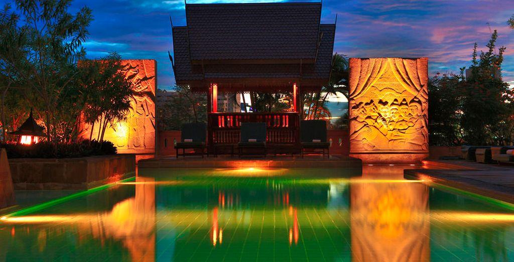Durante tu estancia en Bangkok estarás alojado en el Century Park Hotel 4*