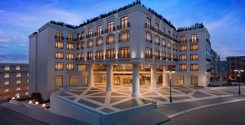 Hotels Pour Une Escapade A Istanbul : Cvk park bosphorus hotel istanbul voyage priv� jusqu à