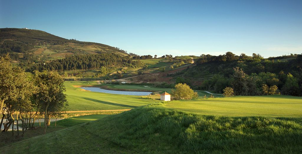 Prenez le temps de vivre dans une campagne portugaise aux airs de Toscane.