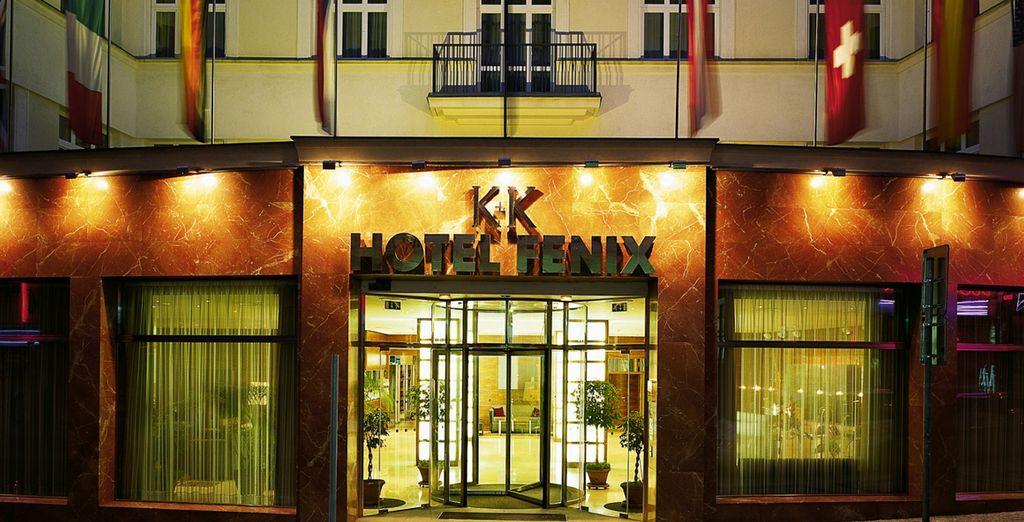Le K+K Hotel Fenix vous ouvre ses portes - K+K Hotel Fenix 4* Prague