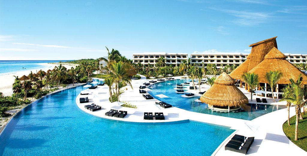 Direction le Secrets Maroma Beach Riviera Cancun !