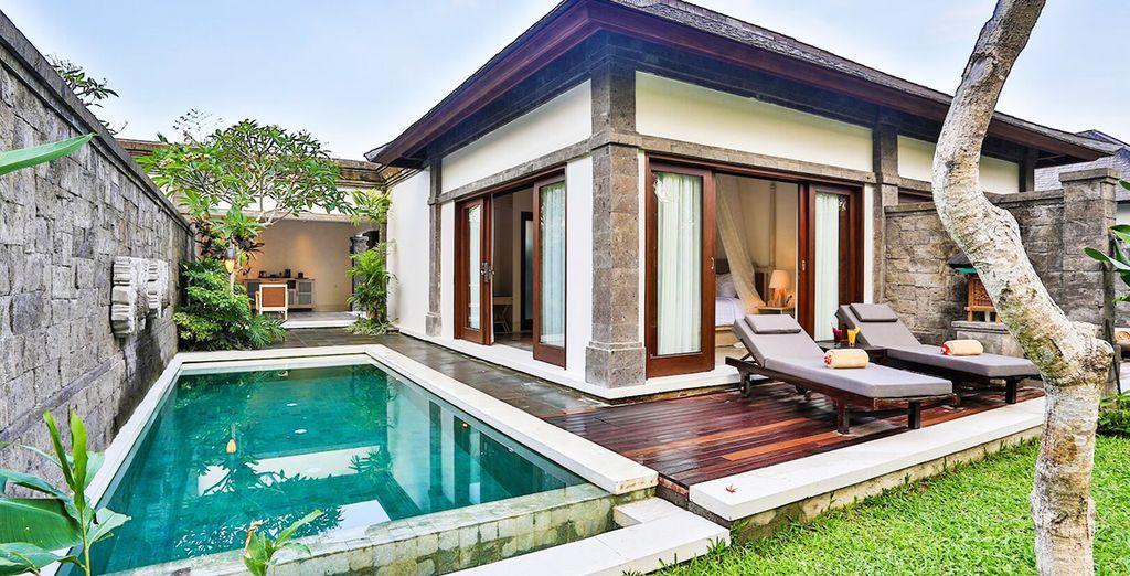 Posez vos valises en One Bedroom Pool Villa