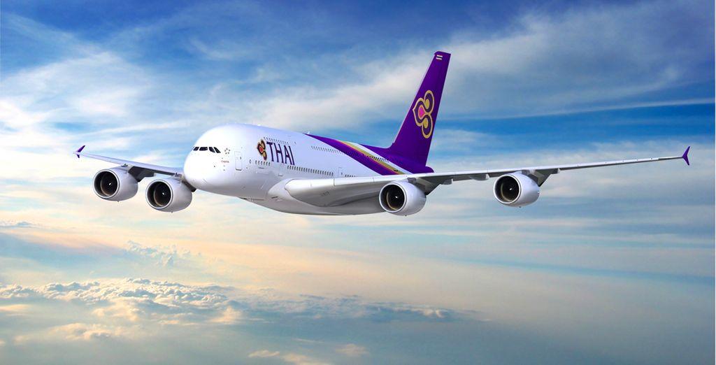 Pour rejoindre cette destination de rêve, choisissez Thai Airways