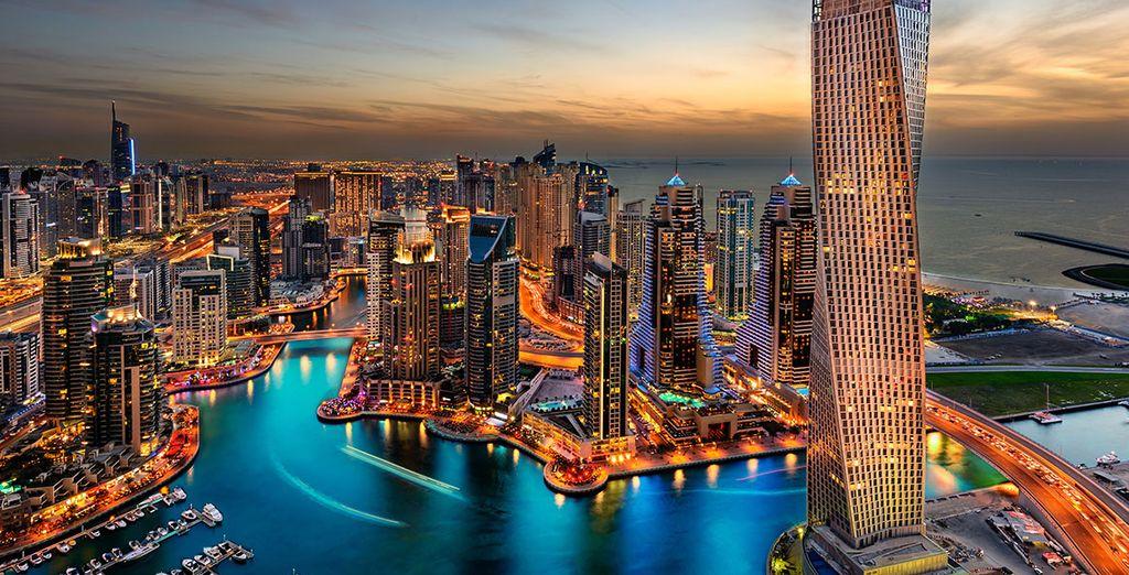 Et en plus de toutes ces beautés, vous pourrez découvrir la démesure de Dubai