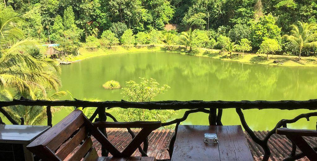 Ou encore le Kurabiri Greenview Resor à Khao Sok
