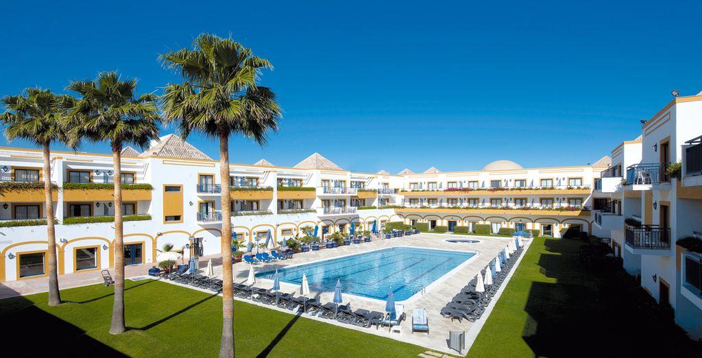 Hotel vila gale tavira 4 voyage priv jusqu 39 70 for Hotel demi pension