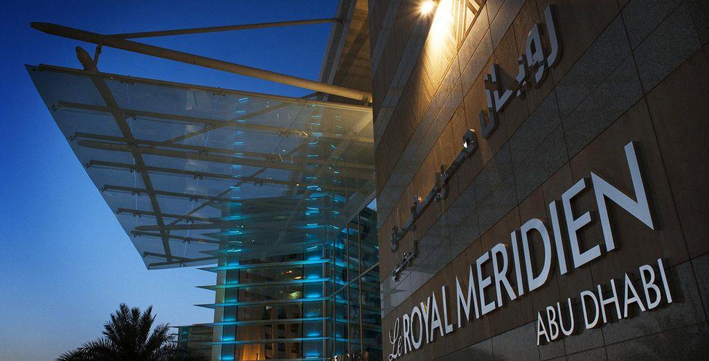 À l'hôtel Le Royal Méridien Abu Dhabi 5*  - Hôtel Le Royal Méridien Abu Dhabi 5*  Abu Dhabi
