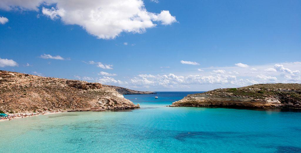 Lampedusa vi da il benvenuto - Mare Blu Lampedusa