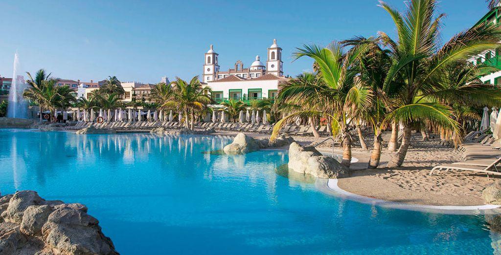 Lopesan villa del conde resort thalasso 5 voyage priv for Villas en gran canaria