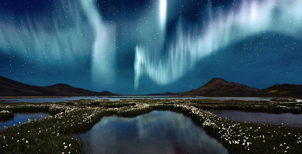 Seek out nature's amazing lightshow - the Northern Lights - Northern Lights & Blue Lagoon Escape Reykjavik