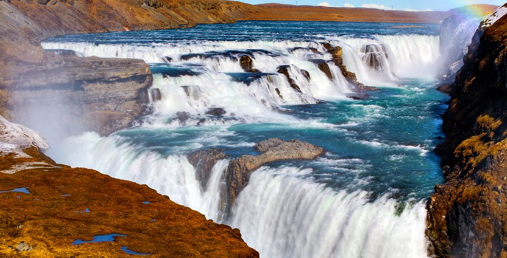 Gulfoss is an area to relish