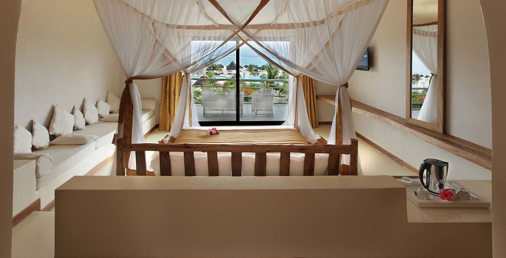 Gold zanzibar beach house spa 5 voyage priv up to 70 for Spas that come to your house