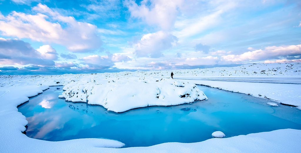 To majestic glaciers which give this country its name as the Land of Fire and Ice