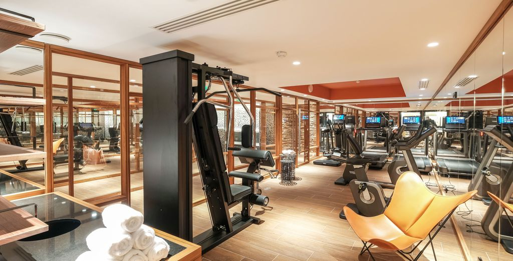 Take a trip to the state-of-the-art gym