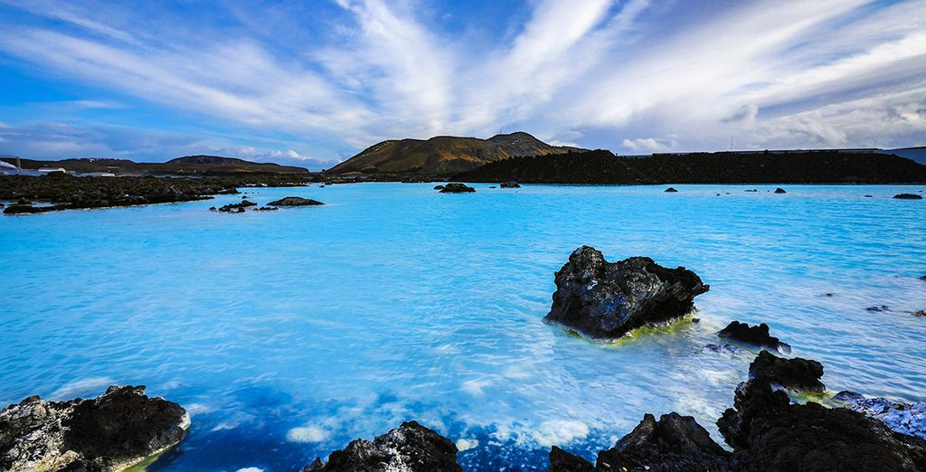 Discover the glorious natural wonders of Iceland - Black Sands & Blue Lagoon Reykjavik