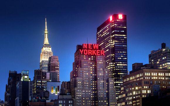 Estados Unidos Nueva York Wyndham New Yorker Hotel 4* desde 559,00 €