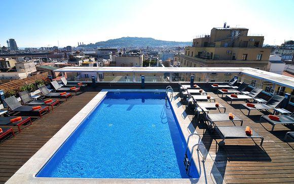 Espagne Barcelone - Hôtel Jazz à partir de 43,00 €