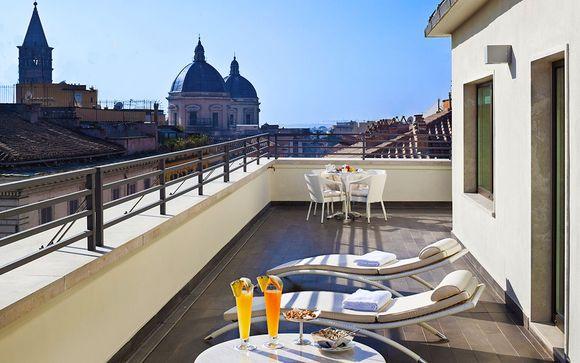 Italie Rome - Hôtel Una Roma 4* à partir de 122,00 €