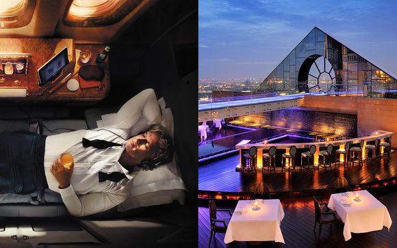 Hôtel Lebua Tower 5* avec Emirates et séjour possible à Dubaï
