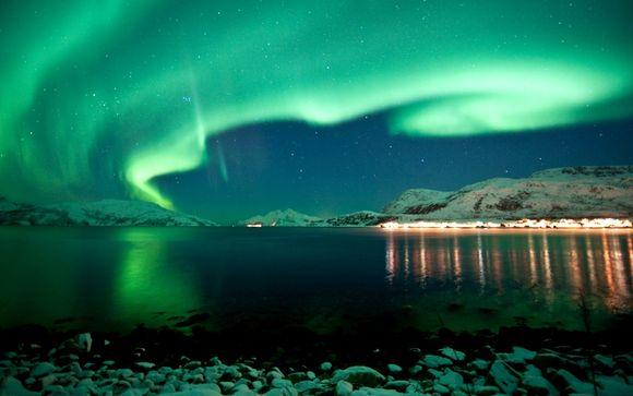 L'Aurora boreale al confine delle Tre Lapponie