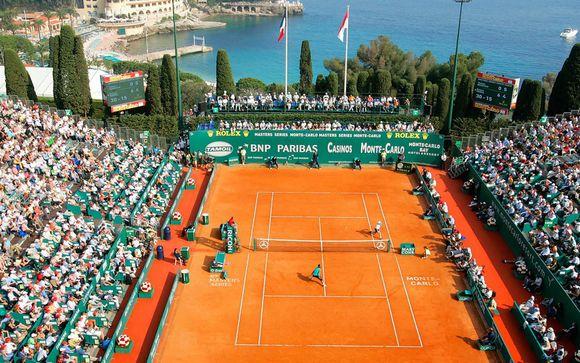 Monte Carlo Rolex Masters + Hotel Carlton 4*