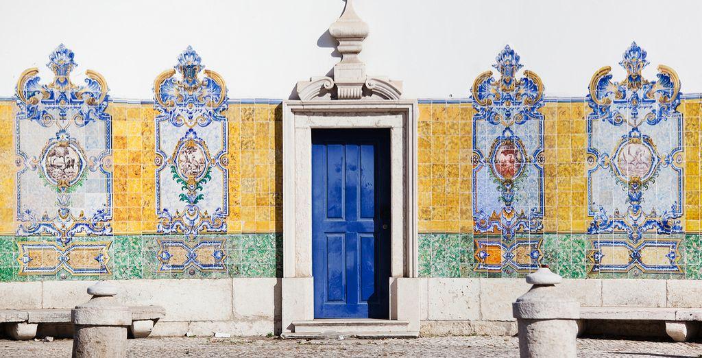 Passieren Sie historische Bauwerke