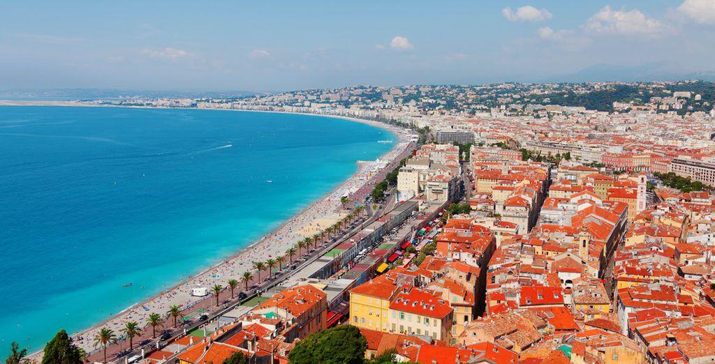 Ihr Aufenthalt beginnt in Nizza