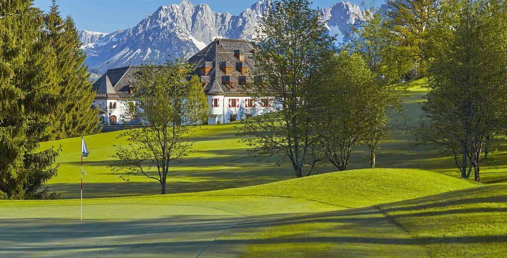 Besuchen Sie den Kletterwald Hornpark in St. Johann - Kitzbühel