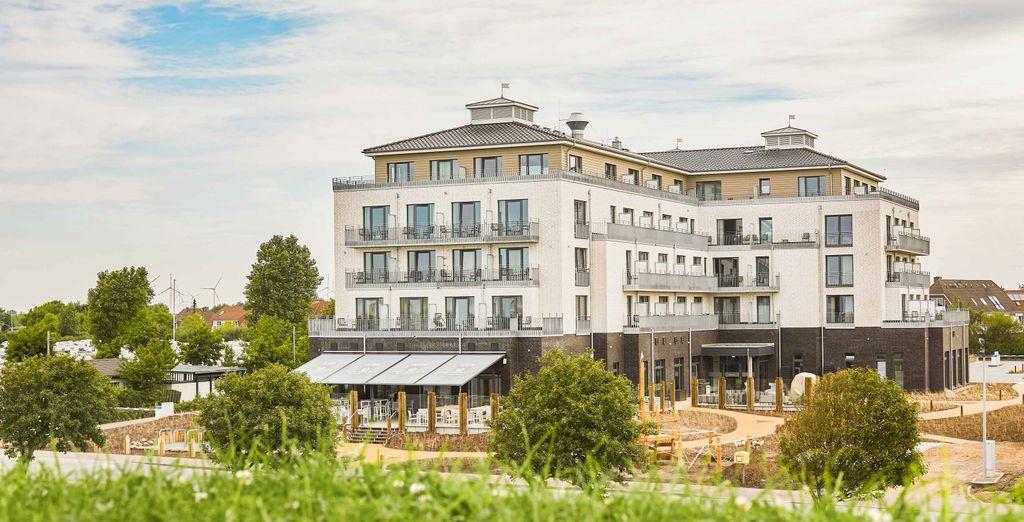 Küstenperle Strandhotel & Spa 4* - hotels mit Voyage Privé