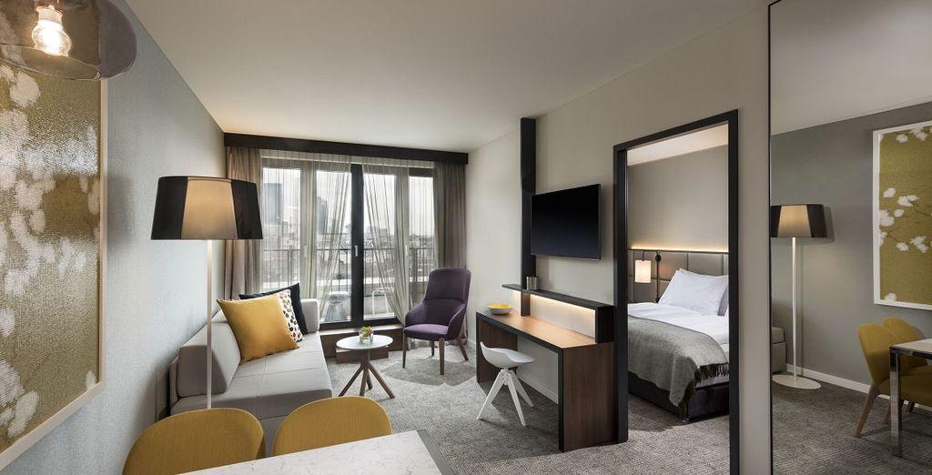 Adina Apartment Hotel Frankfurt Westend