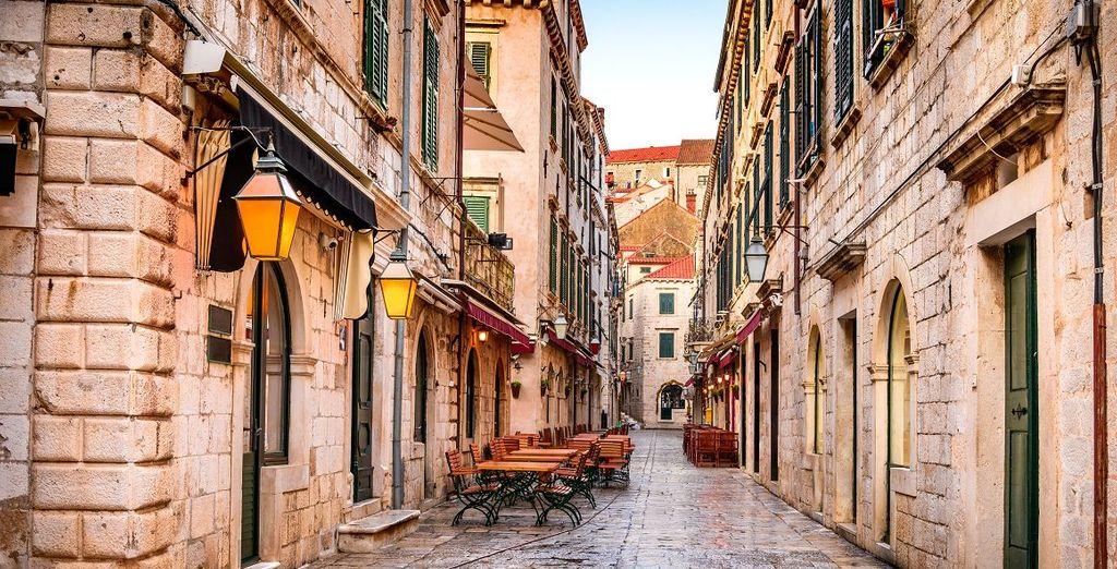 Entdecken Sie die alten Viertel von Dubrovnik