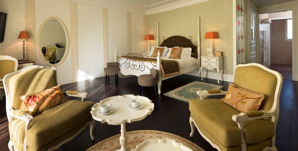 Hübsch eingerichtete Zimmer warten auf Sie