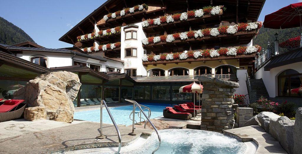 Buchen Sie ein Wochenende zwischen dem Wohlbefinden allein im Hotel SPA-Hotel Jagdhof