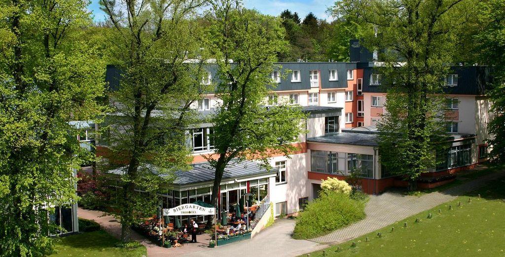 Trihotel - Wellnesshotel am Schweizer Wald 4*