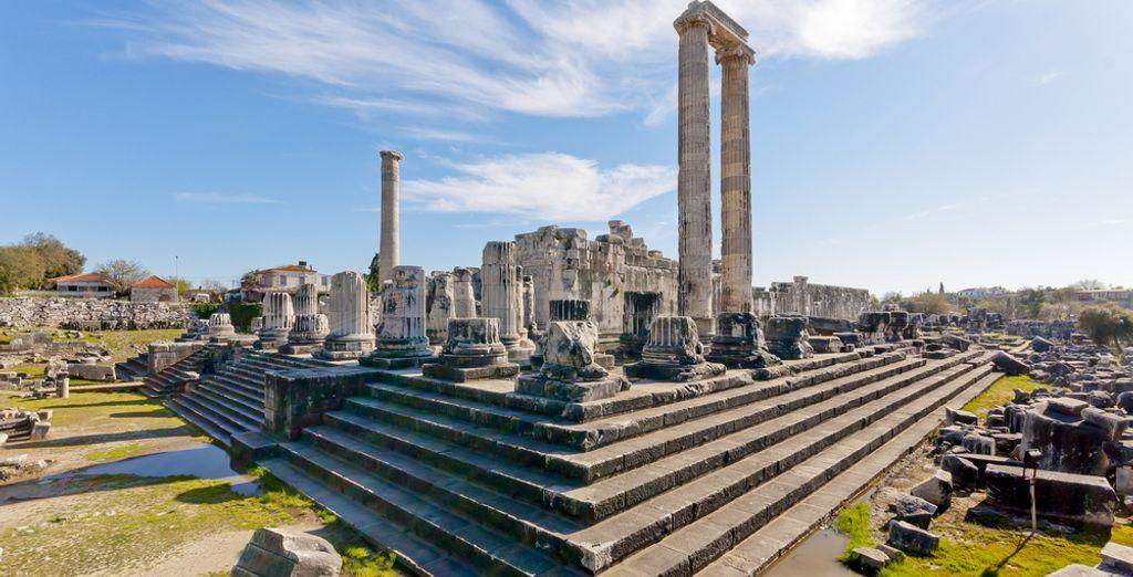 Apollon Tempel in Side