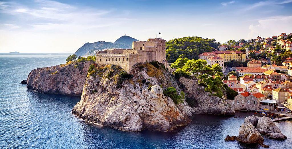 Besuchen Sie die Festung Lovrijenac in Dubrovnik