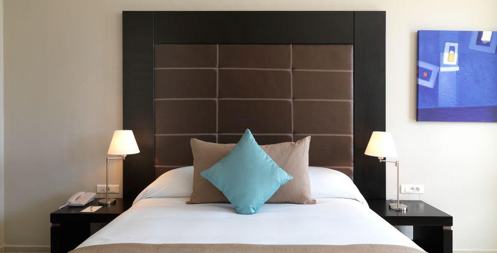 Oder entscheiden Sie sich für die luxuriöse Ambassador Suite, inklusive privater Terrasse