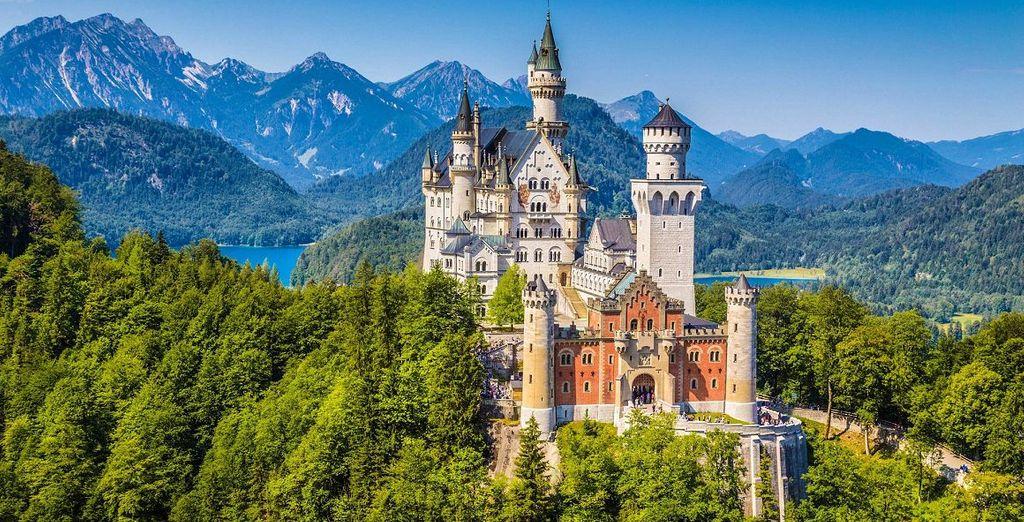 Top-Sehenswürdigkeiten im Allgäu: Schloss NeuschWanstein